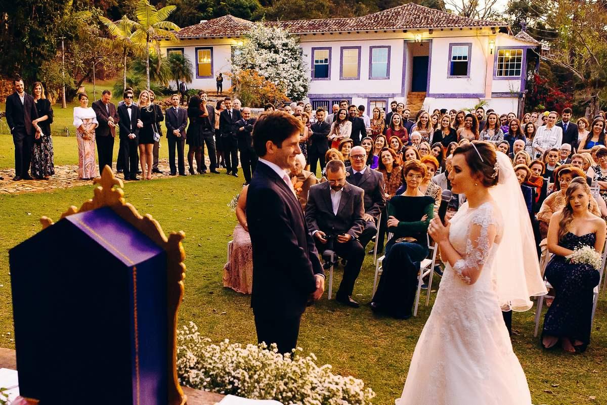 Casamento Ao Ar Livre Em Ouro Preto / Fazenda Da Caieira