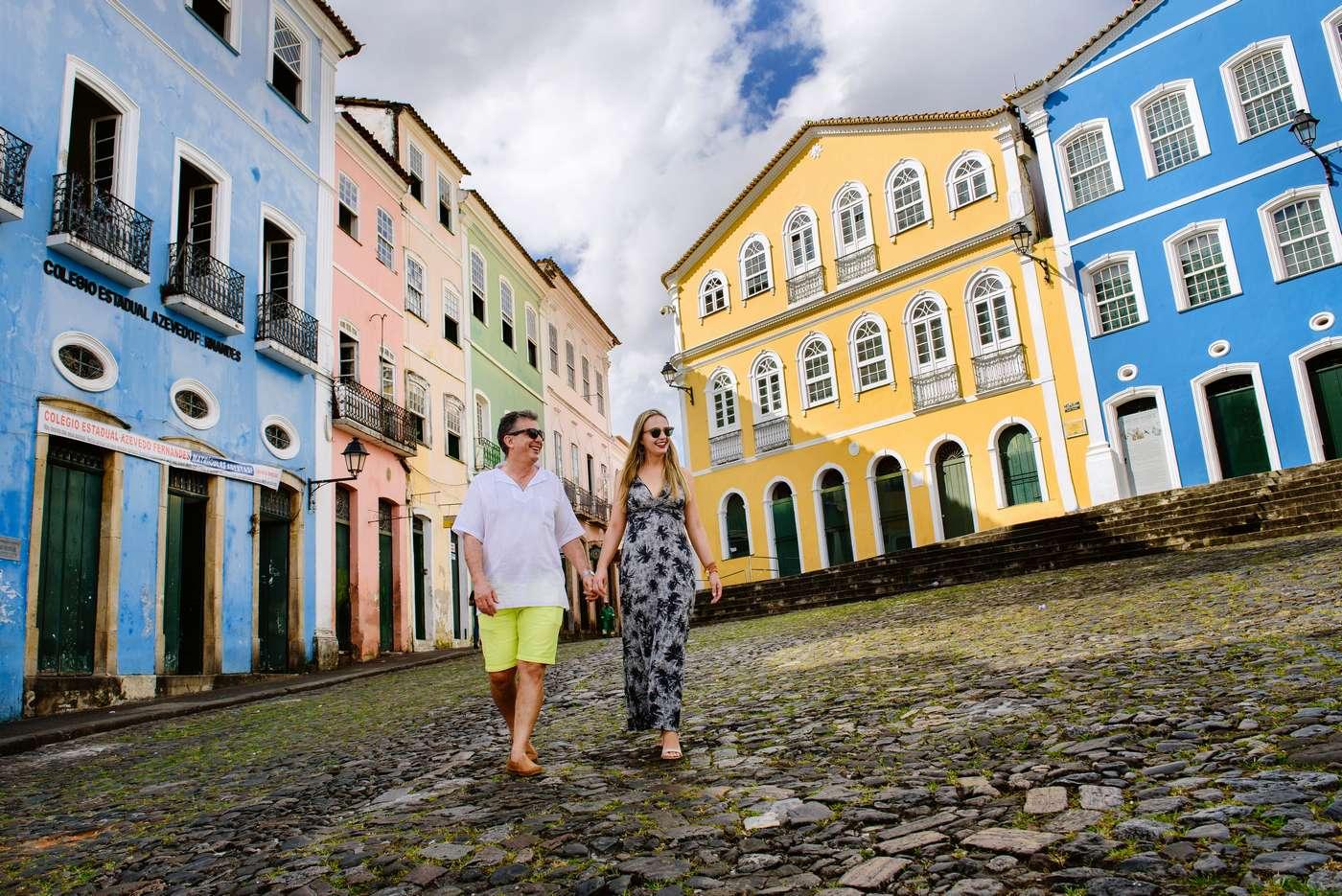Pre Wedding Na Bahia / Pelourinho e Praia Do Forte