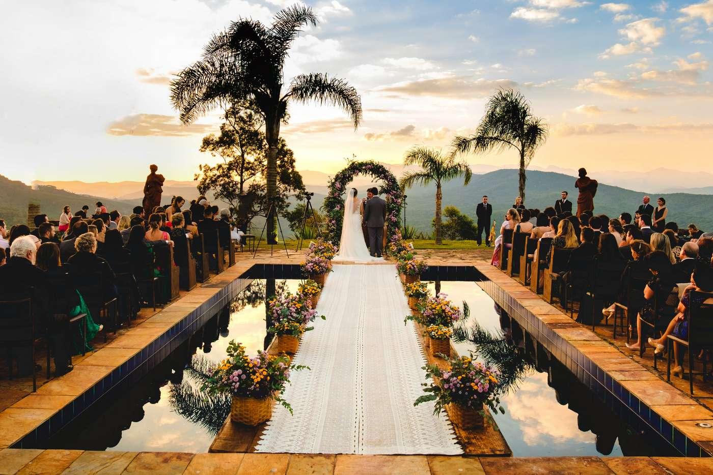 Casamento Ao Ar Livre No Vila Relicário / Ouro Preto