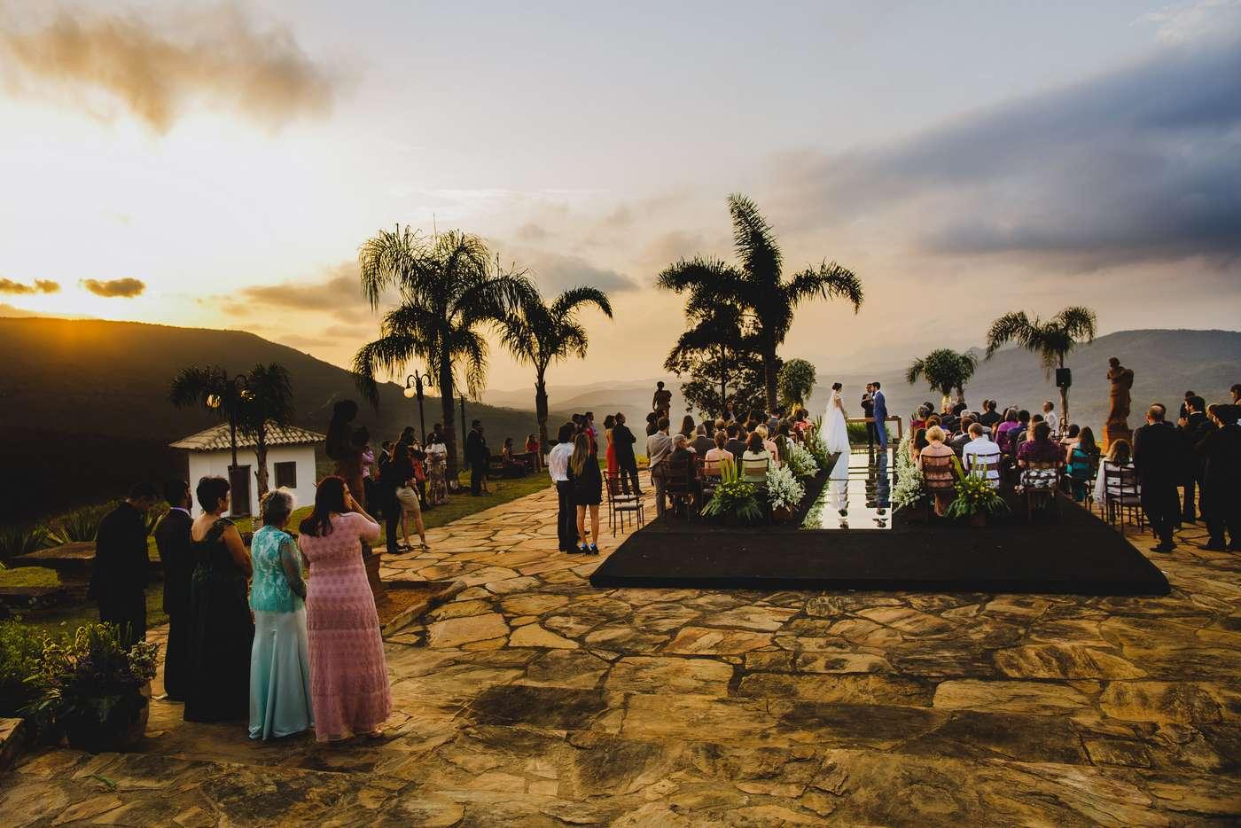 Casamento Ao Ar Livre No Vila Relicário