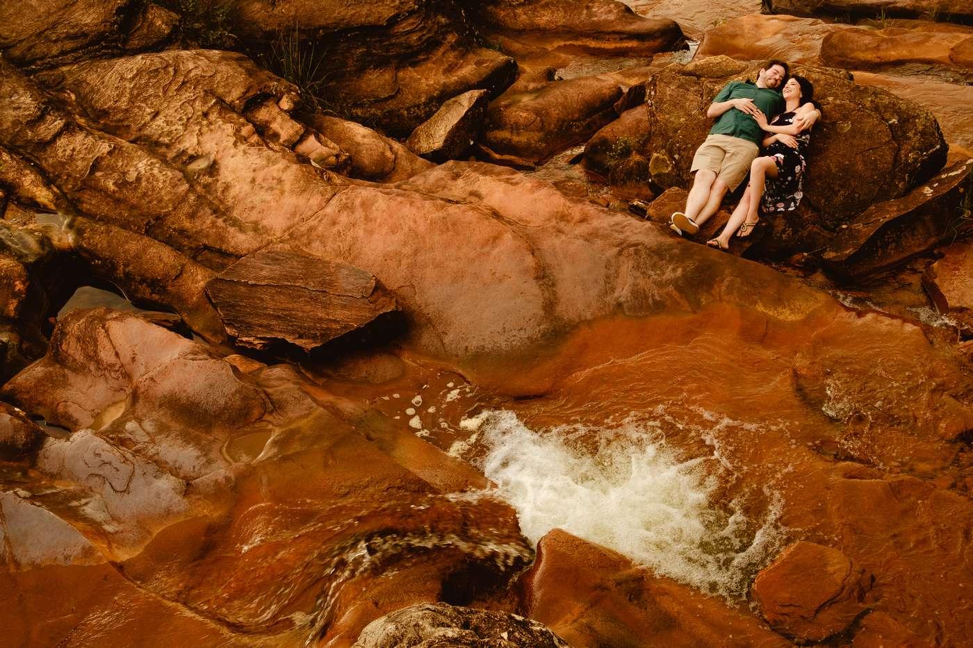 Pré Casamento Na Cachoeira Das Andorinhas Em Ouro Preto