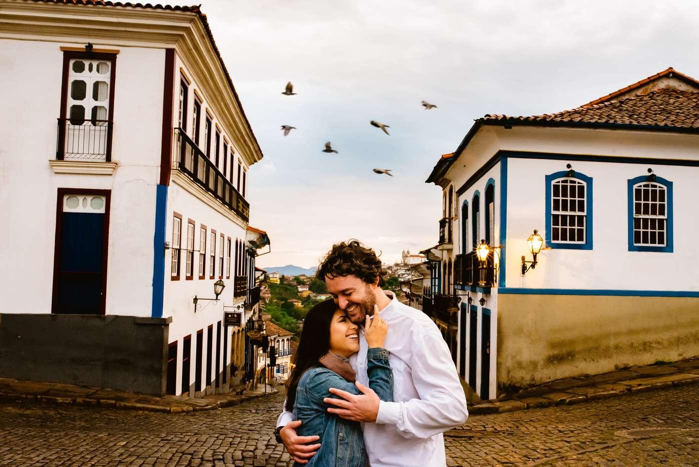 Pré Casamento Pelas Ruas De Ouro Preto