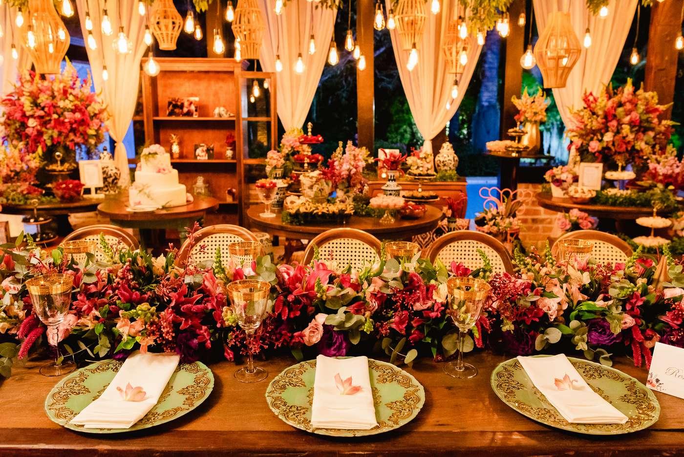 Decoração Para Casamento À Noite Na Chácara Chiari, BH.