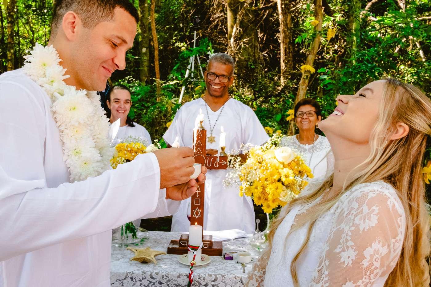 Casamento na Umbanda / Cerimônia na Floresta