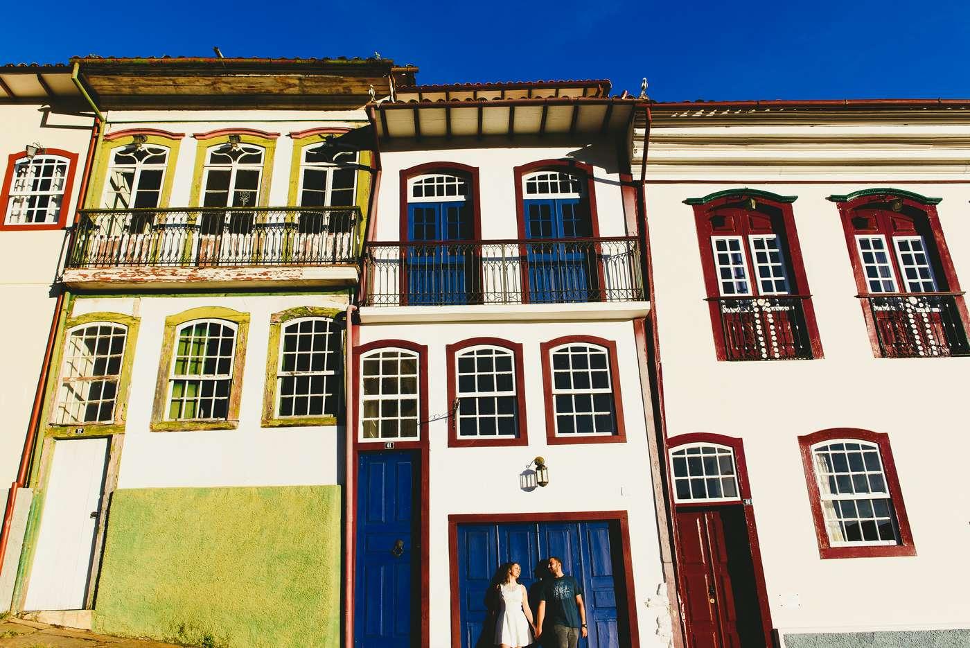 Sessão de Fotos Pré Casamento em Ouro Preto