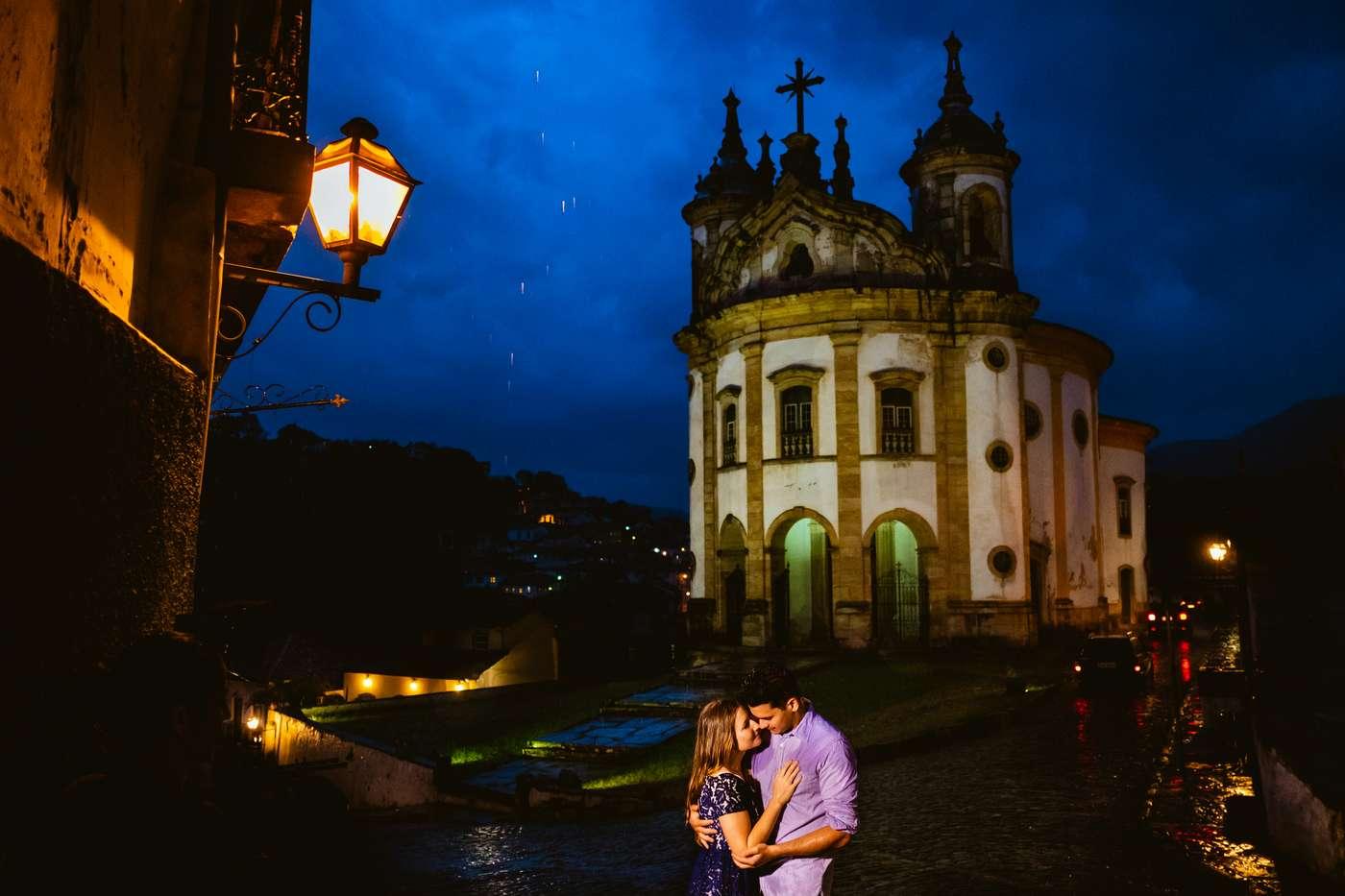 Pre Wedding com Chuva Em Ouro Preto