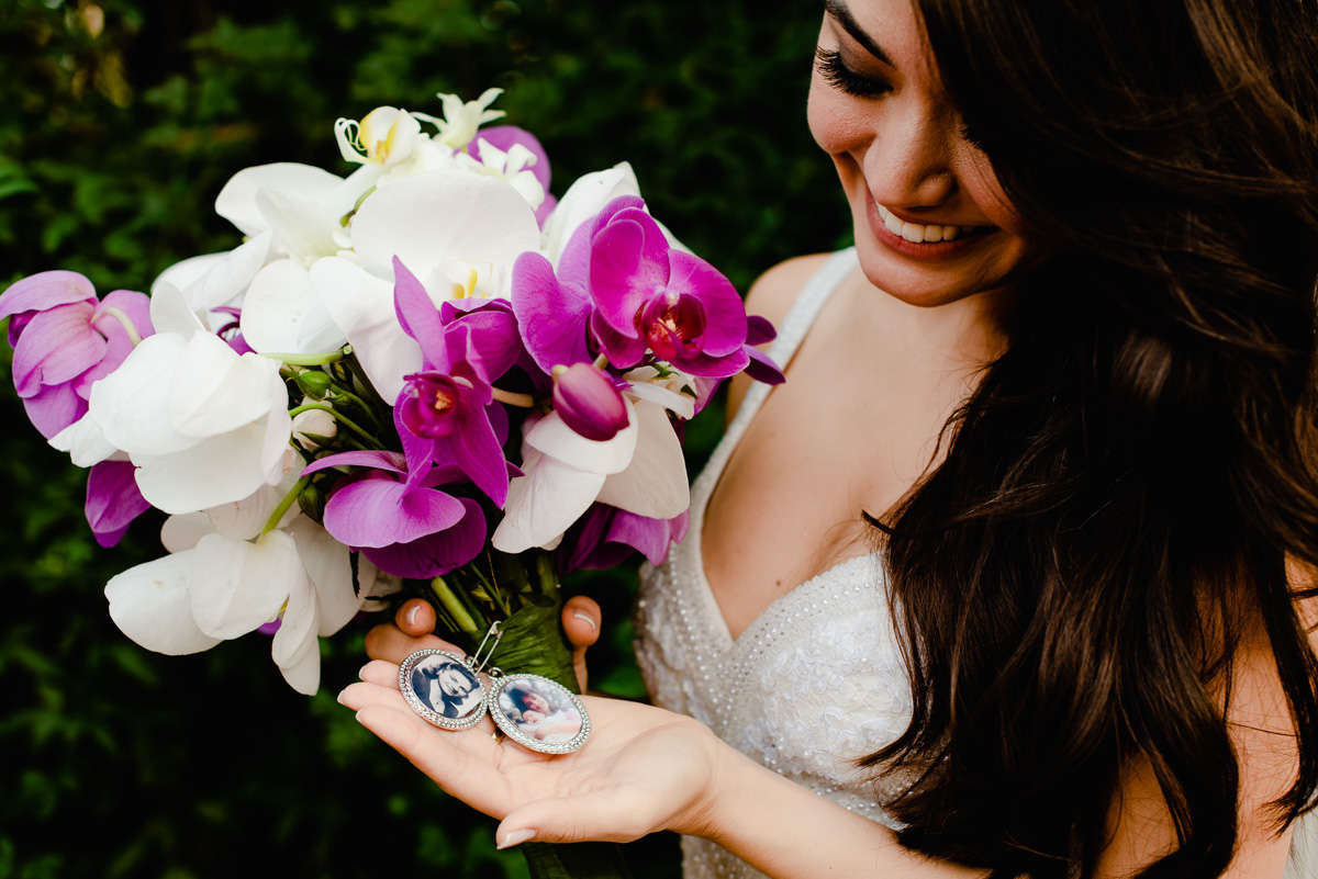 noiva, bouquet