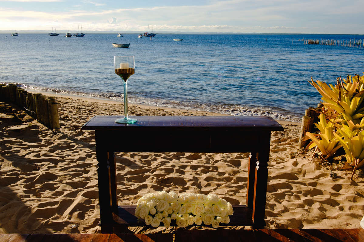 casamento na praia de barra grande bahia ponta do muta