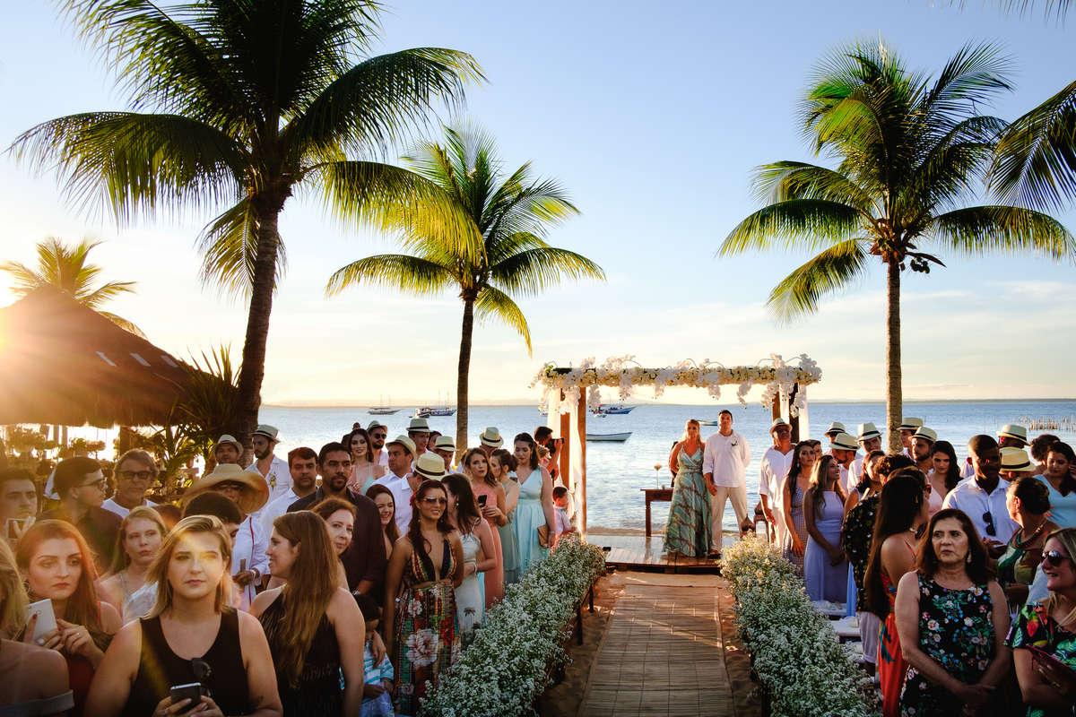 Destination Wedding Na Praia: Barra Grande, BA