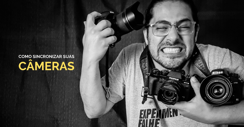 Como sincronizar os horários de fotos feitas com câmeras diferentes?