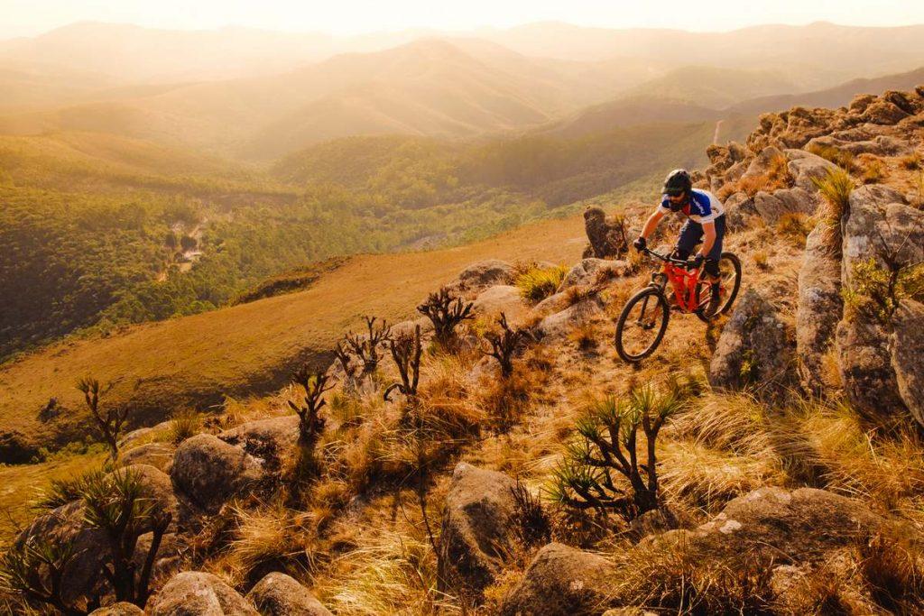 trilhas de mountain bike em ouro preto